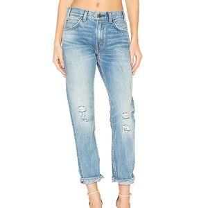 Levi's 505c Orange Tab Cropped Jeans Size 25